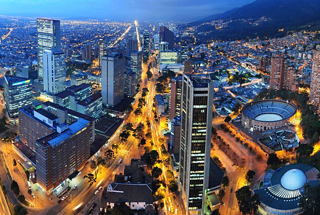 I moved on to Bogotá