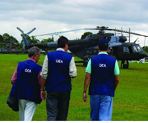 Misión de Buenos Oficios de la OEA en Colombia y Ecuador (MIB/OEA)