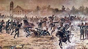 Batalla de Caseros y Renuncia de Rosas