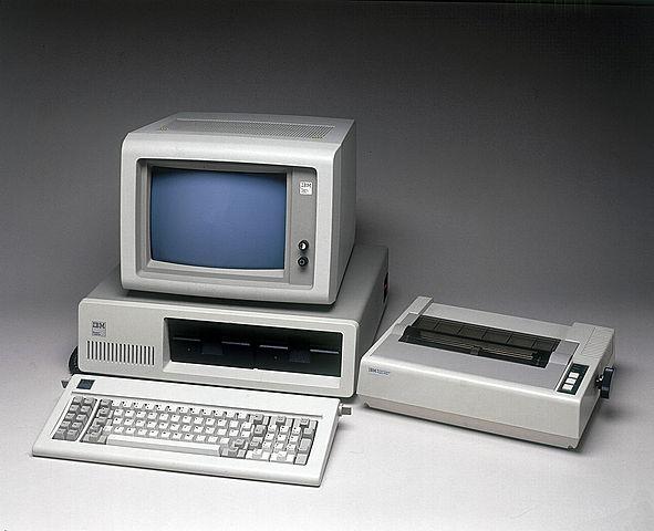 Корпорация IBM выпустила свой первый ПК