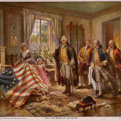 American History Years 1700 A.D.- 1800 A.D. timeline
