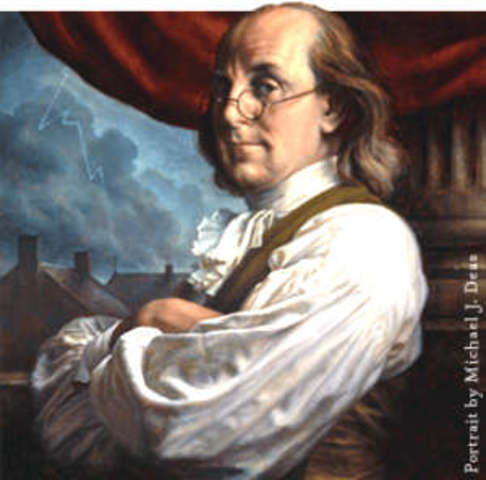 The Autobiography, by Benjamin Franklin is published as a whole