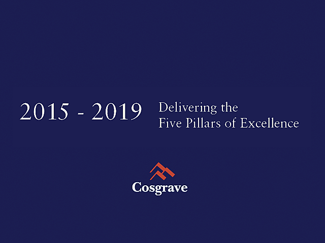 2015 - 2019 Delivering the Five Pillars of Excellence