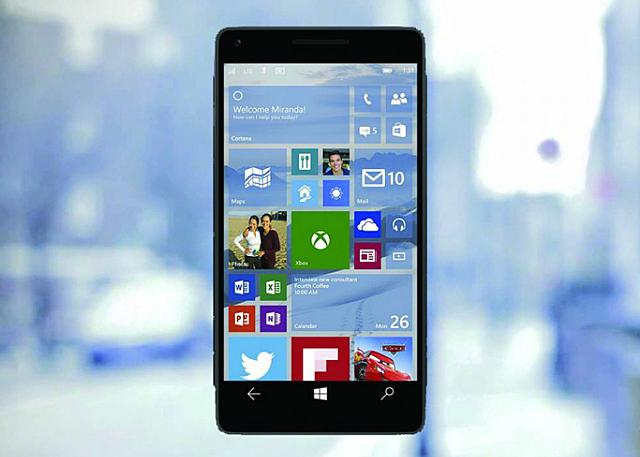 Windows phone10