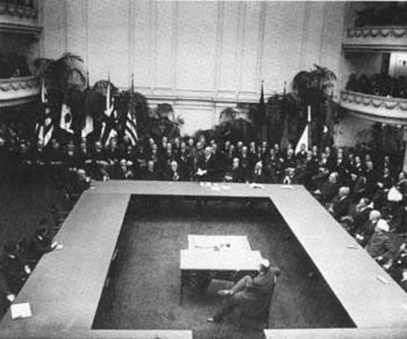 Washington Disarmament Conference of 1921-22