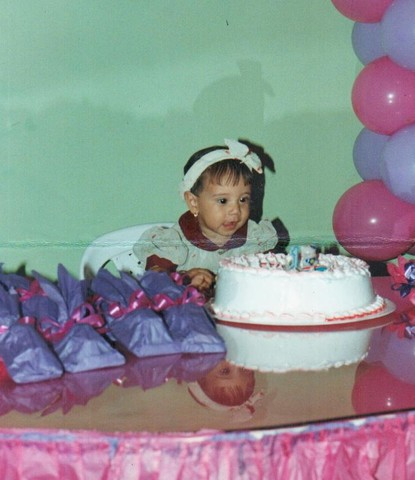 My first birtday