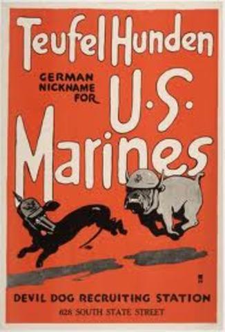 U.S. fights Germans back