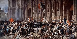 Luigi Filippo abbandona Parigi