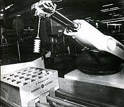 Primer robot comercial