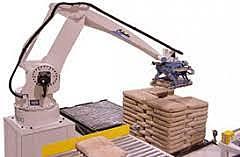 "Primer robot ""palletizing"""