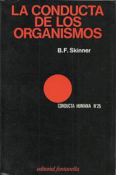 """Libro """"La conducta de los organismos"""""""