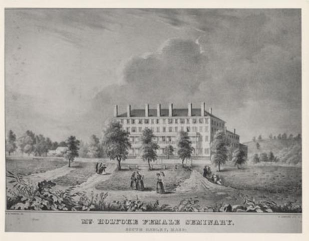 Dickinson begins to attend Mount Holyoke Female Seminary