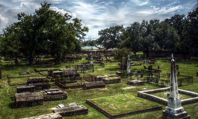 Joe Cain was reburied in Mobile's Church Street Graveyard in 1966