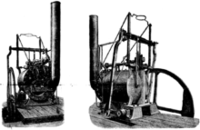 Trevithick becomes full-time inventor.