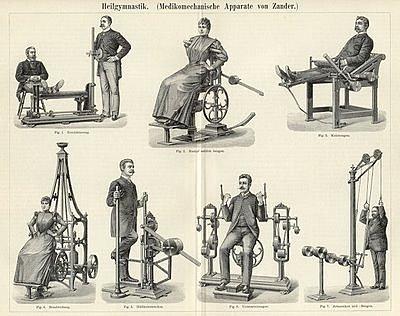 GUSTAV ZANDER Padre de la fisioterapia moderna