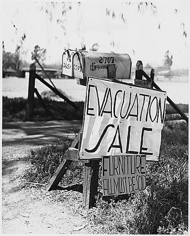 Photodocumentary project of The Great Depression