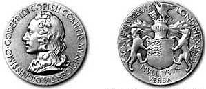 Charles Darwin Recieved the Royal Medal