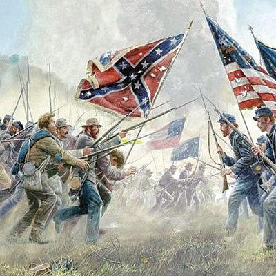La Guerra di secessione americana timeline