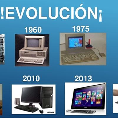 Evolución de lo computadores timeline