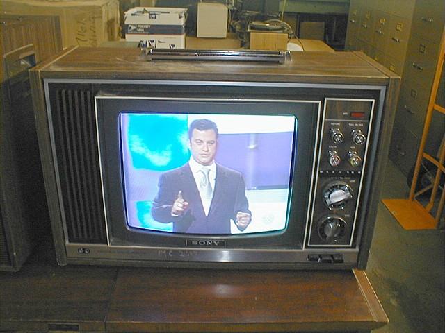 Apareción de la Televisión a color