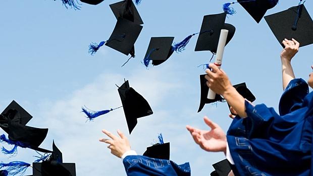 Graduating from University
