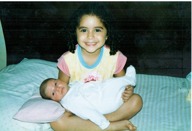 When my sister was born