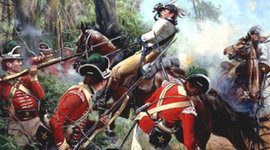 Major Battles of the Revolutionary War timeline