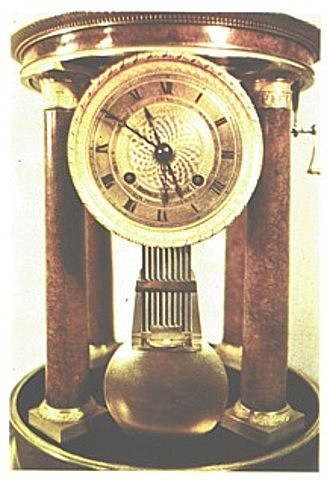 El Reloj con péndulo