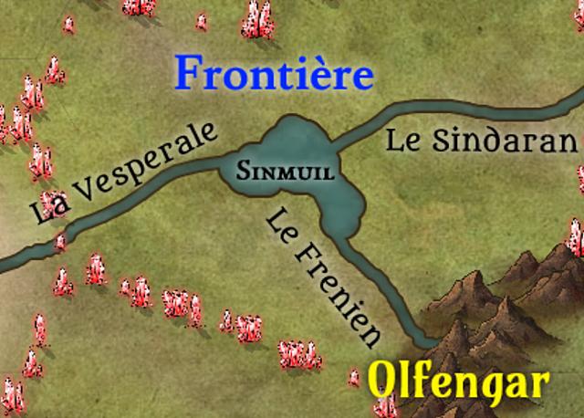 Accrochages à la Frontière