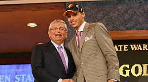 Warriors draft Guard Steph Curry