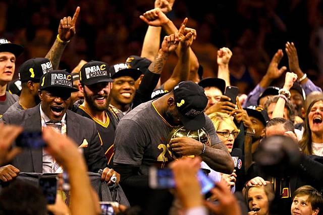 Warriors Throw 3-1 lead in NBA Finals