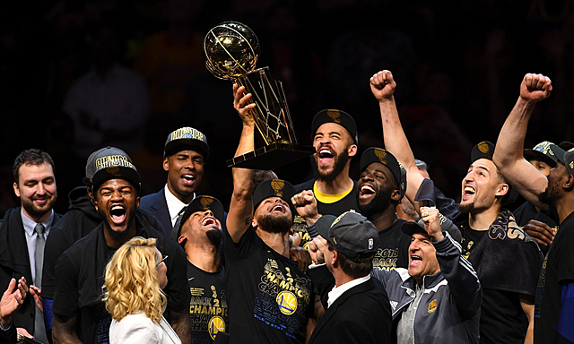 Warriors are Back-to-Back Champions