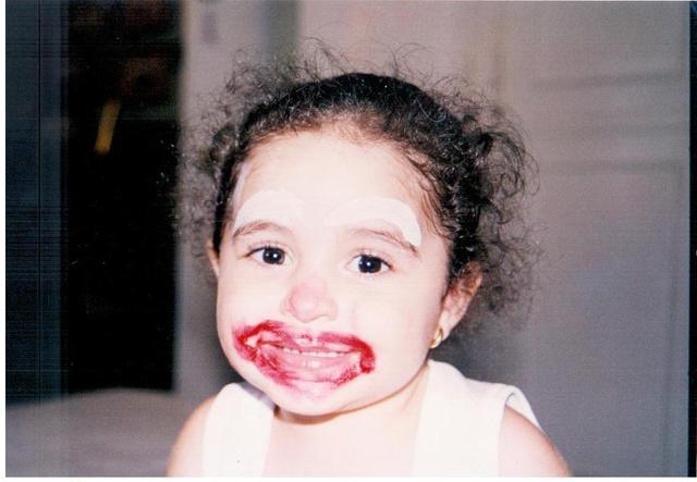My first makeup
