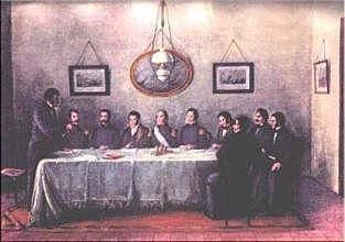 La firma del Pacto Federal
