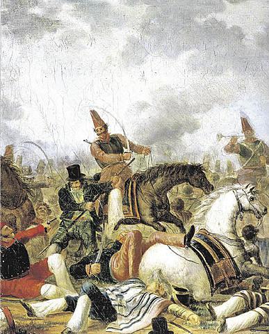 Las rebeliones de 1839.