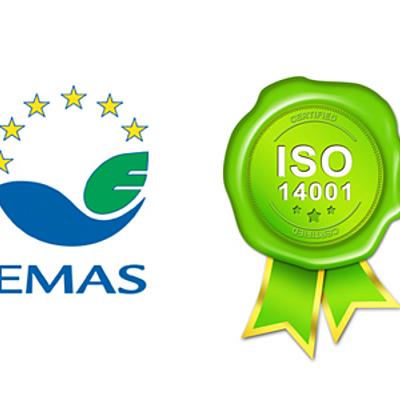 EVOLUCIÓN DEL RELGAMENTOS EMAS Y LA NORMA ISO 14001 timeline