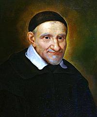 Vicente de Paúl (1576-1660) Francés.