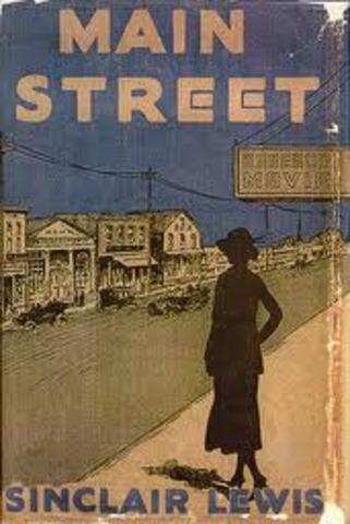 """Sinclair Lewis' """"Main Street"""""""