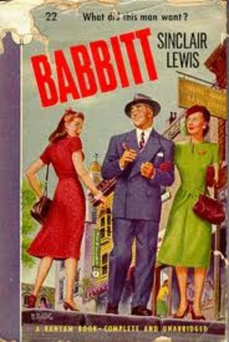 "Sinclair Lewis' ""Babbitt"""