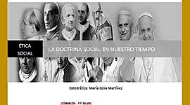 LA DOCTRINA SOCIAL EN NUESTRO TIEMPO timeline