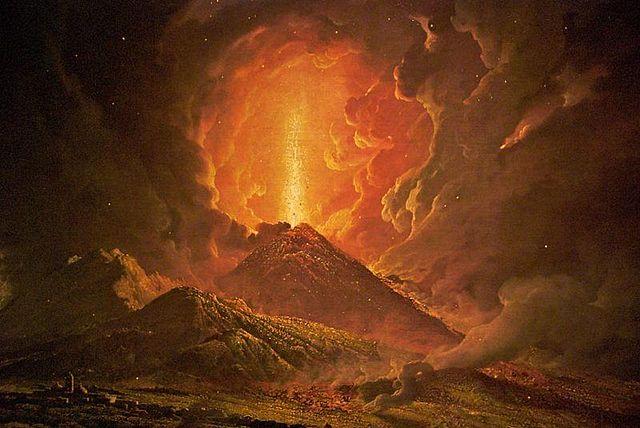 Eruption d'Arochrigas
