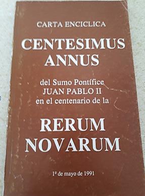 Centesimus Annus Juan pablo II