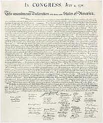 Declaration Of Independence (Unit 1)