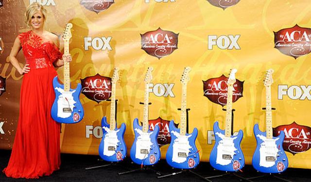 won six fender guitar trophies