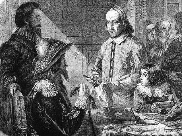 Charles I dissolves parliament