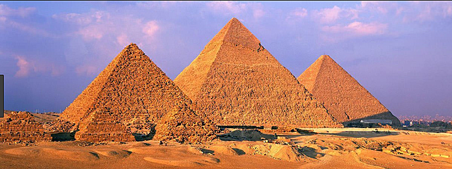 The Creation of the Pyramids of Giza