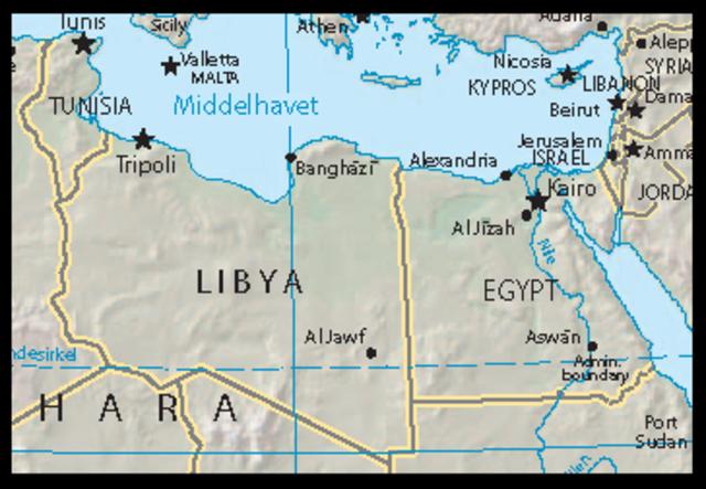 LIBYA: Anti-government protests in Libya