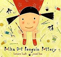 Polka Dot Penguin Pottery