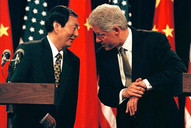 Bill Clinton en China