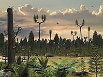 Misisissippian - The appearence of large primitive trees